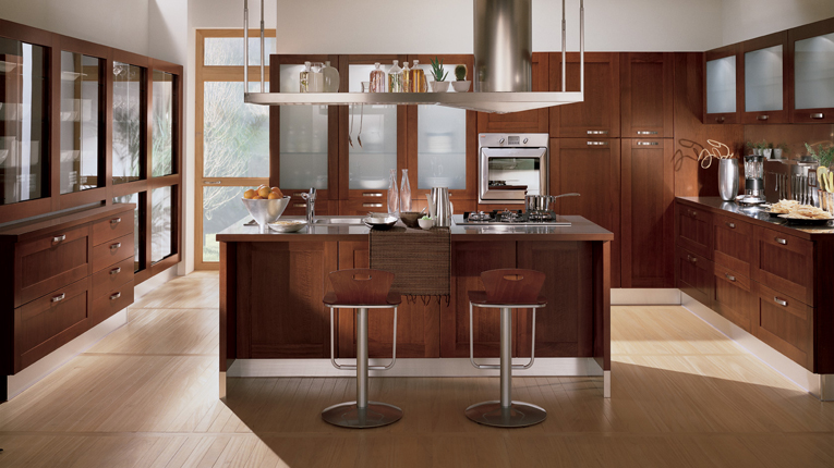 Emejing Cucine In Legno Moderne Gallery - harrop.us - harrop.us